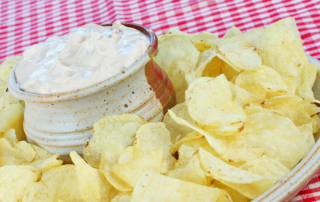 dip recipes - caramelized onion dip