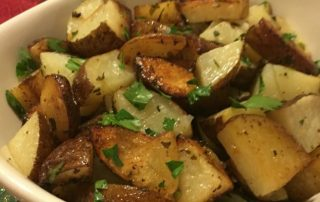 christmas herb potatoes