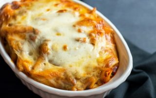 4 Ingredient Baked Ziti