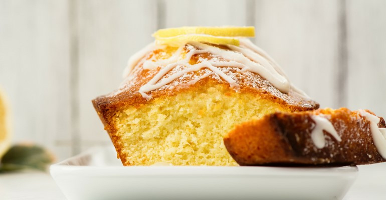 Cake Mix Lemon Loaf