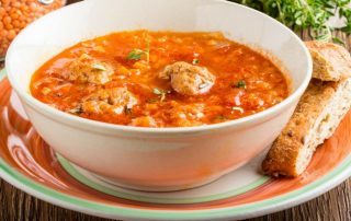 Crock Pot Meatball Soup